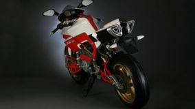 Bimota Tesi 3D In Red And White Back Pose